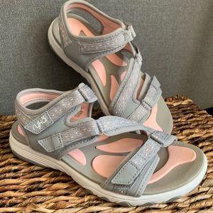 """Ryka """"Ginger"""" Adjustable Sport Sandals"""
